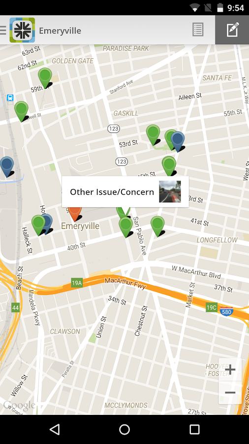 Engage Emeryville- screenshot
