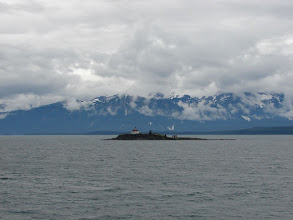 Photo: Eldred Rock Lighthouse in Lynn Canal