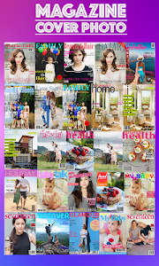 Magazine Cover Photo Frame screenshot 1