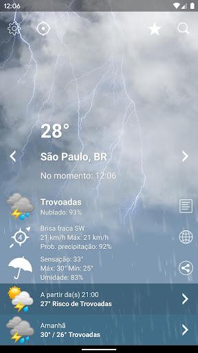 Tempo Brasil Clima XL PRO - previsão 10 dias screenshot 2