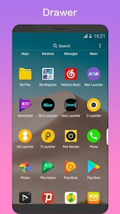 OO Launcher 🏆 for Android O 8.0 Oreo™ Launcher Screenshot