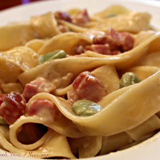 Pancetta & Fava Bean Pasta