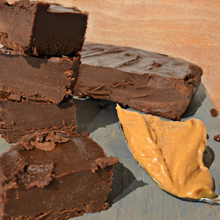 Easy Dairy-Free Chocolate Peanut Butter Fudge