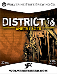 Wolverine State District 16 Amber Lager