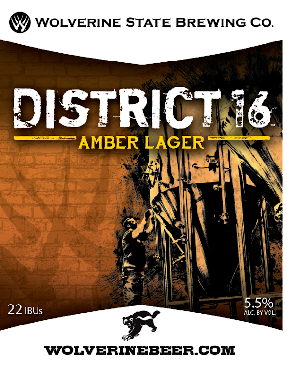 Logo of Wolverine State District 16 Amber Lager