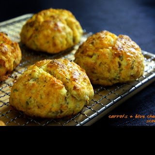 Carrots Blue Cheese Scones