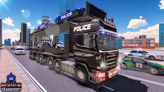US Police Robot Transform – Police Plane Transport 3