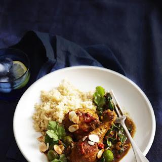 Moroccan Chicken and Quinoa.