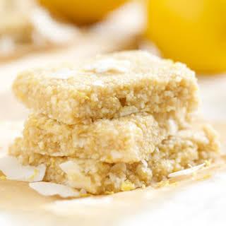 Lemon Meringue Pie Energy Bars.