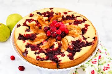 Cranberry  Pear Cake