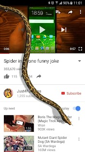 Snake On Screen Hissing Joke- screenshot thumbnail