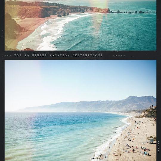 Vacation Destinations - Instagram Post Template