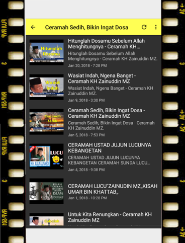 ceramah KH Zainudin MZ 1.0 screenshots 4