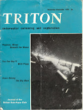 Photo: Triton, forerunner to Diver magazine, official organ of the B.S.A.C.