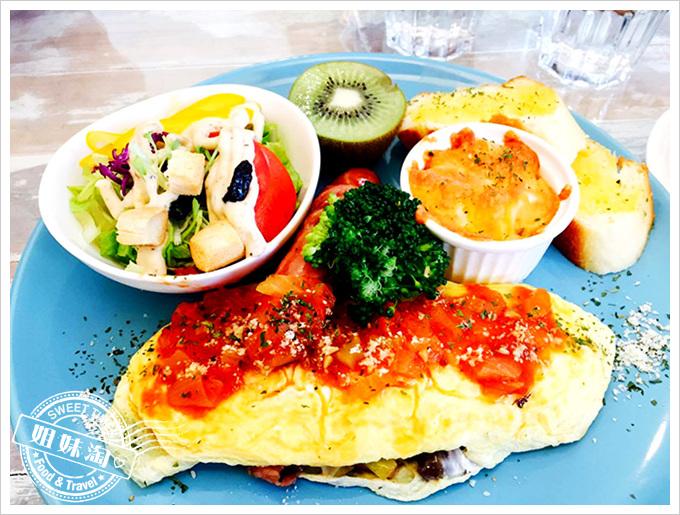 轉角98-起司歐姆蛋早午餐