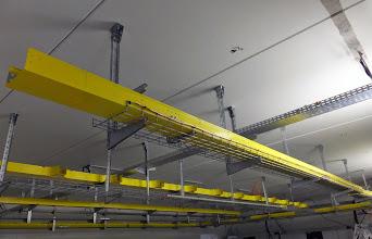 Photo: Passage de câbles #datacenter #reims (Visite de chantier 16.10.2014)