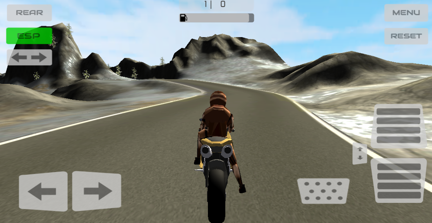 Motorbike Offroad Rush- screenshot
