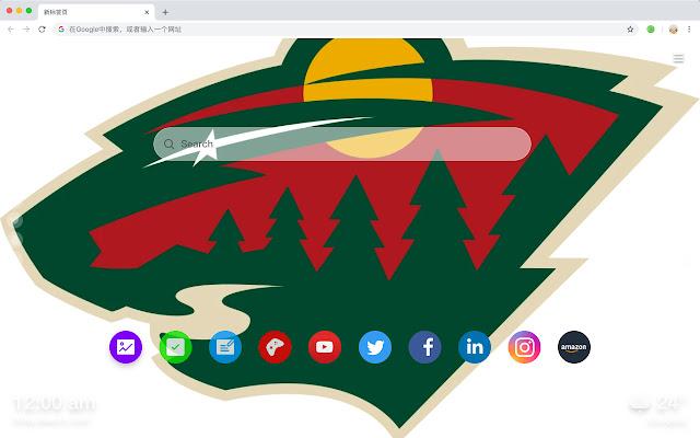Minnesota wild HD Wallpaper New Tab
