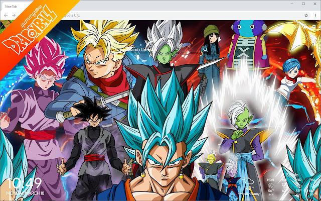 Dragon Ball New Tab