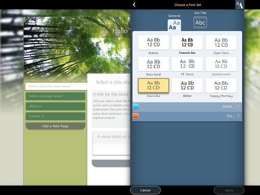 Website Builder for Android screenshot 15