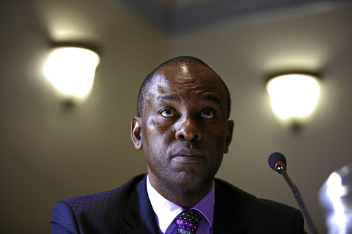 DIGGING IN Minister of Mineral Resources Mosebenzi Zwane reckons the choice of the ANC president is a done deal Picture: Sizwe Ndingane