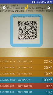 Účtenkovka QR + OCR (Babiš…) - náhled