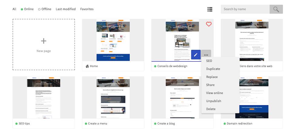 create a responsive design website