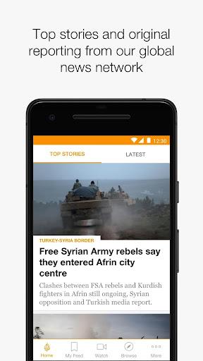 Al Jazeera English Screenshot