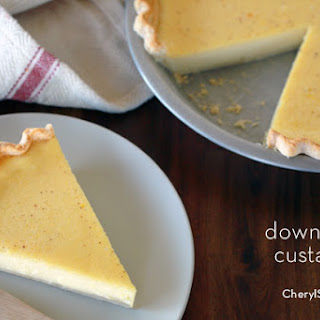 Classic Custard Pie