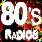 80s Radios Music, Eighties Radios for Free icon