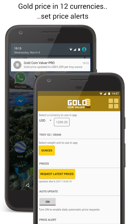 Gold Coin Valuer PRO- screenshot