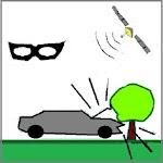 Antifurto satellitare GPS auto+ STRADA+ Parcheggio Icon