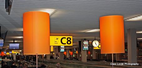 Photo: Amsterdam Airport. Zeer vroeg in de morgen   Very early in the morning.  www.loki-travels.eu