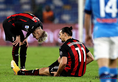 'Man in vorm Zlatan Ibrahimovic twee weken uit roulatie, ook Saelemaekers geblesseerd'