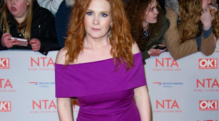 Jennie McAlpine learning Coronation Street scripts ahead of return