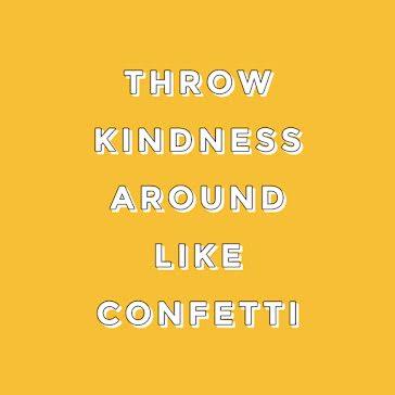 Throw Kindness Around - Instagram Post template