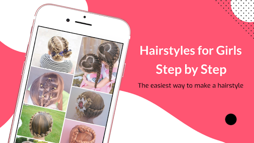 Hairstyles for Girls Step by Step daily use 2020 Apk 1