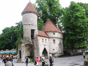 Photo: Part of original old city wall Tallinn