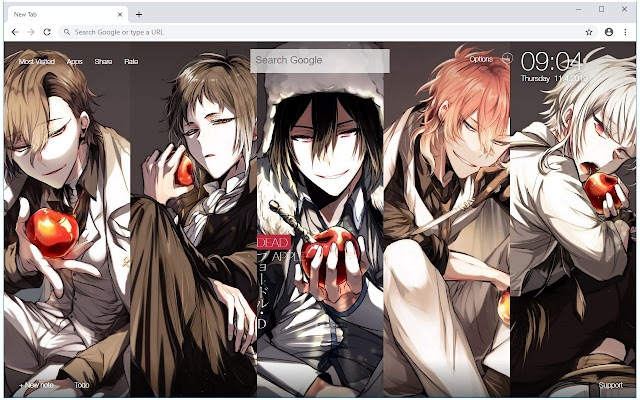Bungou Stray Dogs HD Wallpapers Anime New Tab