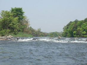 Photo: Safely through the rapids on Kali river