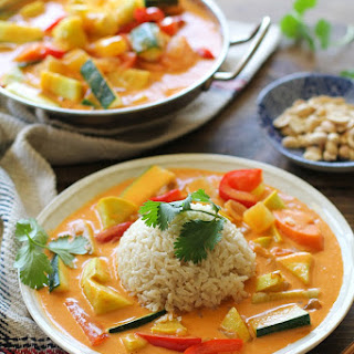 30-Minute Summer Vegetable Red Curry.