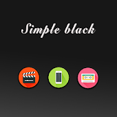 Black and Simple Theme