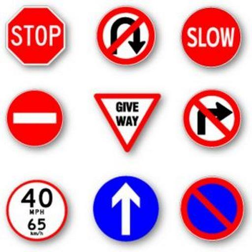 Practise Test USA & Road Signs