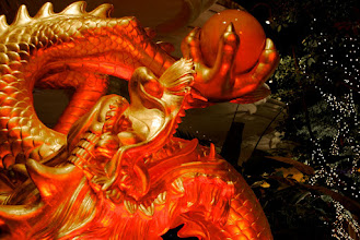 Photo: Chinese New Year Dragon at the Wynn