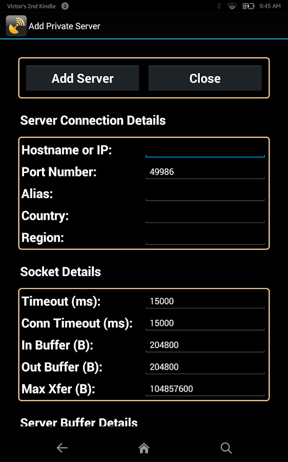 Network Speed Test (Lite)- screenshot