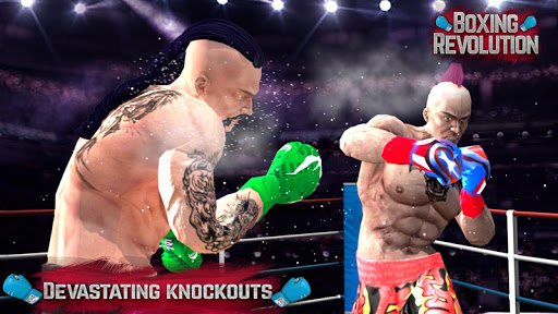 BOXING REVOLUTION - BOXING GAMES : KNOCK OUT