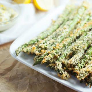 Asparagus Parmesan Fries.