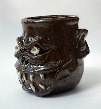 """Photo: Cup 3 * __ * 4 """" tall. *  Holds ~ 1.3 cups"""