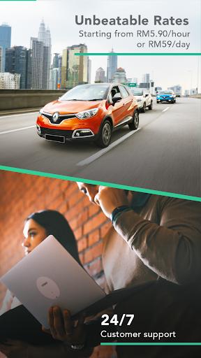 GoCar Malaysia: Experience Car Sharing 1.9.10 Screenshots 1