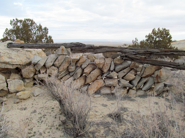 Rock wall near Fallen Rock Alcove